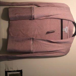 Carmen Marc Volvo Pink Open Blazer